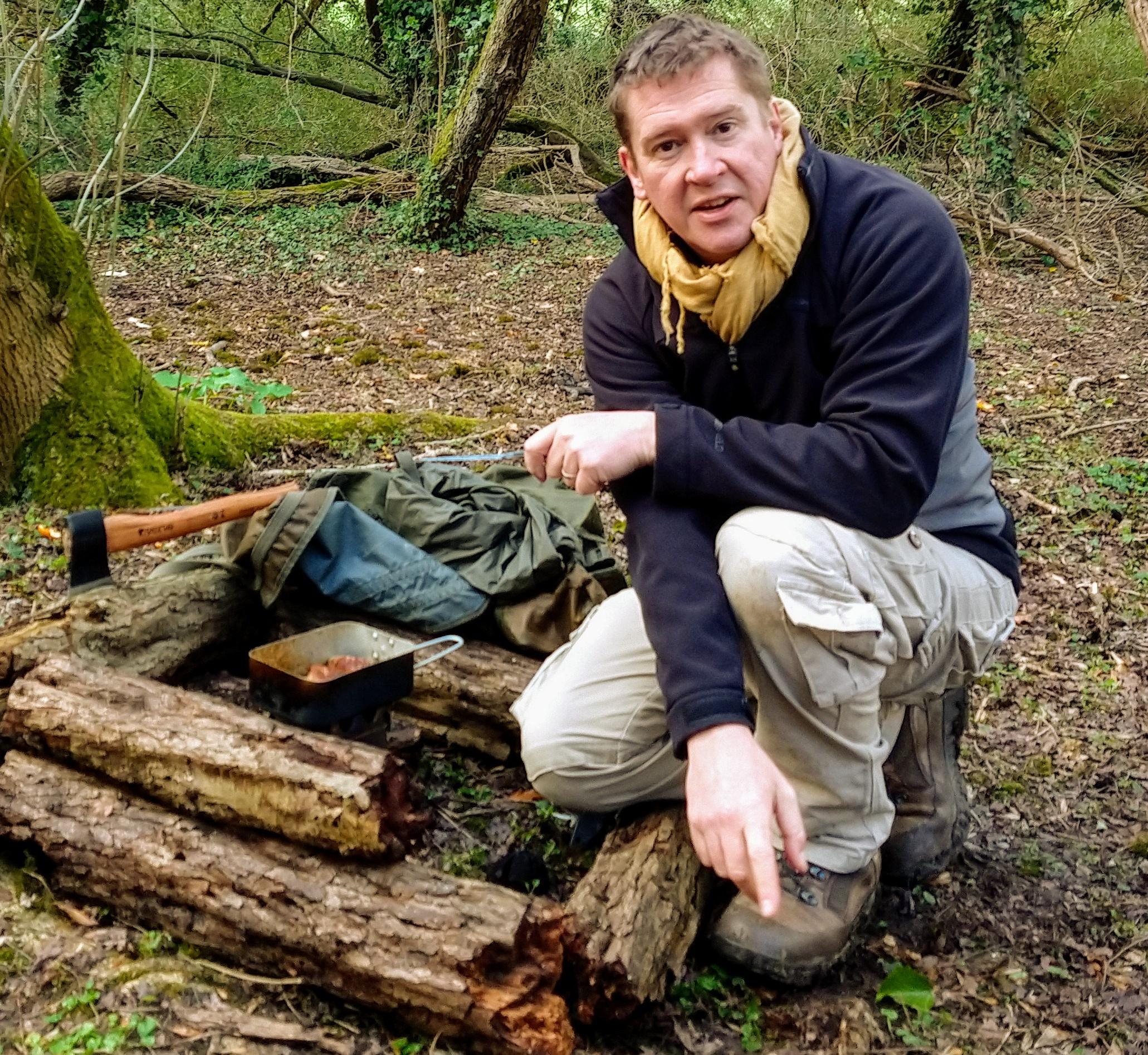 Darren Parkin, head of directing staff at Wild Parkin